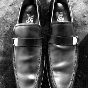 Salvatore Ferragamo Loafer Black (New) 10.5 D